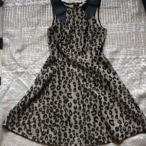 Big strike animal print dress size xs